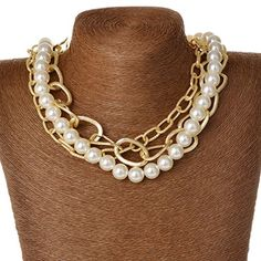 Women Gold Plated Pearl Resin Long Beads Chain Link Pendant Sweater Necklace Thboxes http://www.amazon.com/dp/B00VHYD0VE/ref=cm_sw_r_pi_dp_dJlLvb1P0JZKC