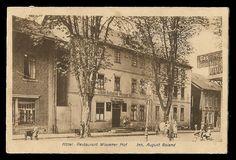 Hotel - Restaurant Wissener Hof - August Boland - 1918, Rathausstraße