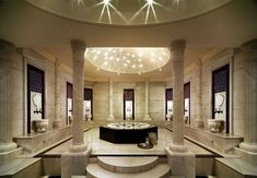 Mardan Palace - Special Class (Antalya, Turkey) Hammam room in Spa! Interior Design Companies, Luxury Interior Design, Mardan Palace, Marmaris Hotel, Turkish Bath, Turkish Marble, Relaxation Room, Steam Room, Palace Hotel