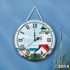Lighthouse Wall Clock $7.98 Oriental Trading Co