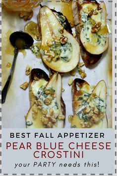 Appetizers That Go With Wine, Wine Party Appetizers, Fall Appetizers, Appetizer Recipes, Party Snacks, Bite Size Food, Wine Tasting Party, Honey Recipes, Blue Cheese