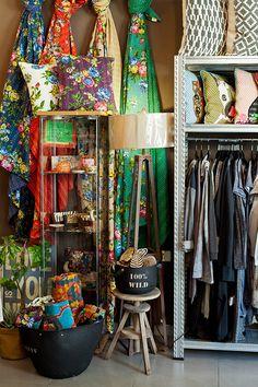 Fabrics (BADIM) Design shop, Neve Tzedek, Tel Aviv, Photo by Boaz Lavi