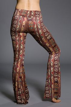 Onzie Bell Bottoms Pant - Warm Tribal Yoga Festival Pant Made in USA - Live Your Life Gear