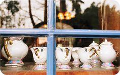 Beauty & the Beast tea set ^-^