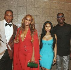 Jay Z & Beyonce with Nicki Minaj & Meek Mill