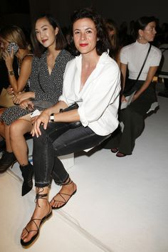 Garance Doré Altuzarra Spring 2017 Ready-to-Wear Front Row Celebrity Photos - Vogue