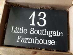 All of our Welsh slate house signs are bespoke and handcrafted to order in our Crynant workshop.  Go to www.valleymill.co.uk/products/signs to find our full range of signs and have a go at designing your own.