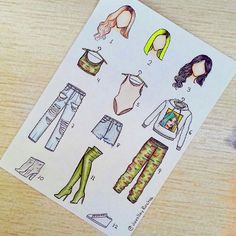 Fashion Illustration Speed Painting with Ink - Drawing On Demand Kawaii Drawings, Cute Drawings, Drawing Sketches, Outfit Drawings, Dress Drawing, Drawing Clothes, Fashion Design Drawings, Fashion Sketches, Social Media Art