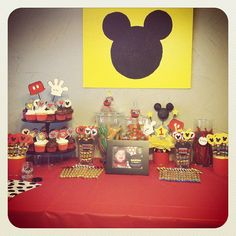 Griffin's Mickey Mouse Birthday Party