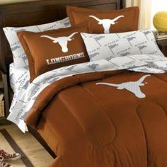 Texas Longhorns 5-piece Full Bed Set