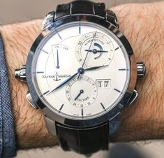 Ulysse Nardin Classic Sonata Watch For 2017 Hands-On