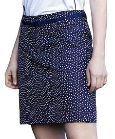 Another great find on #zulily! Navy Dot Newport Skort by GGblue #zulilyfinds