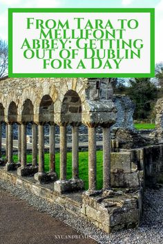Ireland's Ancient East is an area full of history, drama, battles, wars and ancient monuments & ruins such as the Hill of Tara & Mellifont Abbey via @https://www.pinterest.com/xyuandbeyond/