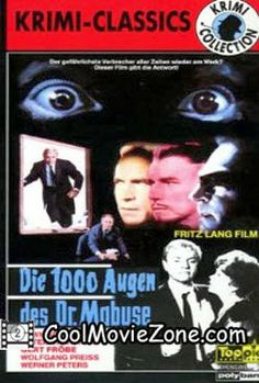 Watch The 1,000 Eyes of Dr. Mabuse (1960) Online For Free @ http://coolmoviezone.com/the-1000-eyes-of-dr-mabuse-1960/