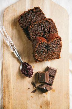 Chocolate Beet Loaf Cake