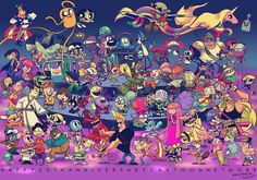 Cartoon Network's 20th anniversary- including Adventure Time, Regular Show, Amazing World of Gumball