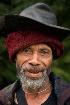 Timor Leste Highlands - faces of the people