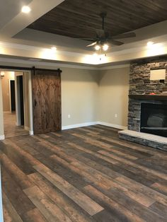 wonderful Barn Door Grasp Bed room Rework Concepts In 2019 Pole Supply : Barn Door Master Bedroom Remodel Ideas In 2019 Pole by kellerannouncing Board : Barn House Plans, Dream House Plans, My Dream Home, Dream Homes, Home Renovation, Home Remodeling, Casa Top, Pole Barn Homes, House Goals