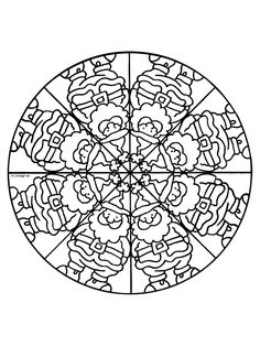 Coloring Page - Mandala coloring pages 30