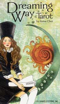 Dreaming Way Tarot dresses up traditional tarot with contemporary artistic flair. In this exquisite deck, stylish characters breathe new life into the scenes and symbols of the Major and Minor Arcana.
