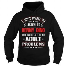 Awesome Tee Love Kenny Dino Shirts & Tees