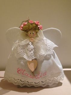 Birth Announcement Angel #handmade visit the facebook page https://www.facebook.com/ilovetundra?fref=ts