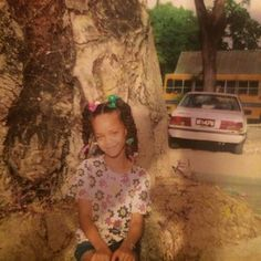 Rihanna was an adorable little girl.   9 Celebrity #TBT Photos You May Have Missed This Week