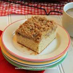 TweetSour Cream Coffee Cake-sometimes it all about the crumb topping!  The holidays are my favorite time of year. Starting the day after Halloween, I can officially get my bake on. Not that I don't bake all year long but during the holidays, it becomes a family affair. If you come to our house during the …