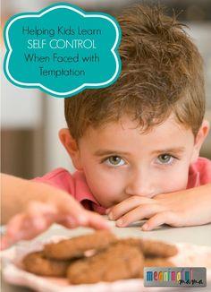 Helping Kids Learn Self Control
