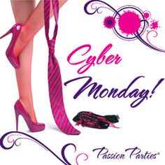 Cyber Monday at Passion Parties! Click the pic for your 30% off discount code.