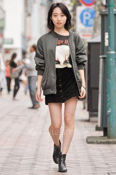 Risultati immagini per street fashion tokyo spring 2017