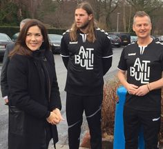 On January 7, 2017, Crown Princess Mary of Denmark attended the launch of the new campaign the Antibulli, with the Mary Foundation and Mikkel Hansen at Vestergade Hall in Silkeborg, Denmark. Anti Bulli is a new project that aims to strengthen children's well-being in the Danish handball clubs. Behind the project is the Mary Foundation and MH24 - Mikkel Against Bullying Association.