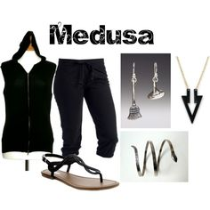 """Medusa from Soul Eater"" by animeinspirations on Polyvore"