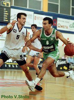 nick galis Basketball Players, Basketball Court, We The Kings, Big Men, Nba, Football, Sports, Legends, Pride