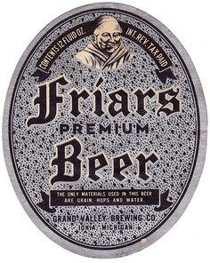 Friars Premium Beer