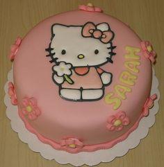 hello kitty cake, via Flickr.