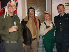 Cute early 1940's Britain party