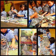 Tapies _Artistas para inspirarse. Quería compartir con vosotros esta pequeña propuesta entorno al artista Antoni Tapies. Este trabajo se realizó con dos grupos de segundo ciclo de educación infantil (3-4 años) durante un mes de primavera.