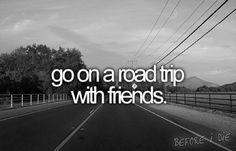 I would love to do this! So much fun to pack up, rent an VW van, and drive around singing our favorite songs and staying in hotels...