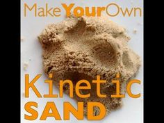 Make Your Own Kinetic Sand (10 lbs for 50 cents!) | GimmieFreebies