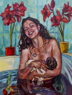 The Birth Project - This site chronicals the progression of The Birth Project, a series of paintings about the birthing experience