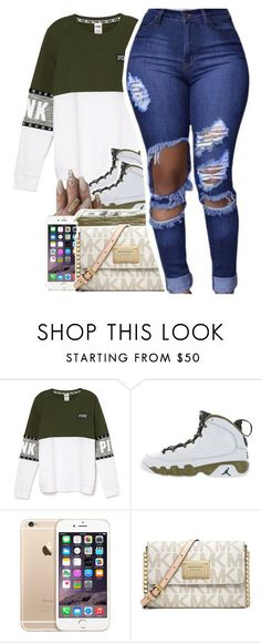 """Untitled #431"" by uniquee-beauty ❤ liked on Polyvore featuring Retrò, SEN and MICHAEL Michael Kors"