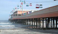 Daytona Beach Boardwalk and Pier, Florida