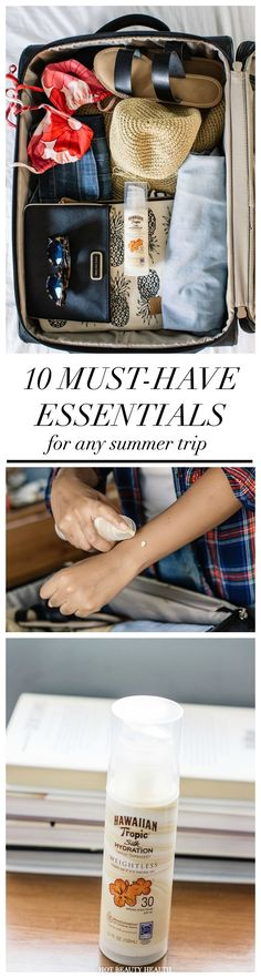 Going on vacation or road trip this summer? You'll need to pack these 10 essentials!