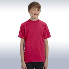 d100088d8c86f2 Authentic Pigment Youth 5-6 oz-Pigment-Dyed   Direct-Dyed Ringspun
