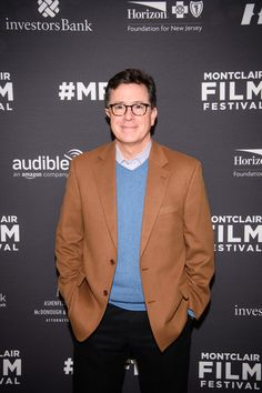 Stephen Colbert arrives at the Post-Election Evening to Benefit Montclair Film Festival at NJ Performing Arts Center on November 19, 2016 in Newark, New Jersey. - A Post-Election Evening With Stephen Colbert & John Oliver to Benefit Montclair Film Festival
