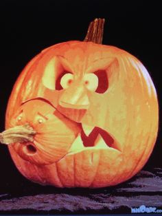 10 awesome jack o lantern ideas to try this halloween from spooky jack o lanterns to funny ones simple one to works of art try one of these great ideas - Funny Halloween Pumpkin Carvings