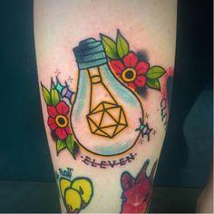 Stranger Things tattoo design by Stickypop