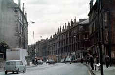 Maryhill Road (Strathmore Bar & Fire Station) - October 1974