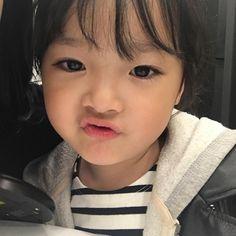 Cute Baby Meme, Baby Memes, Cute Baby Boy, Cute Little Baby, My Baby Girl, Cute Asian Babies, Korean Babies, Asian Kids, Cute Babies